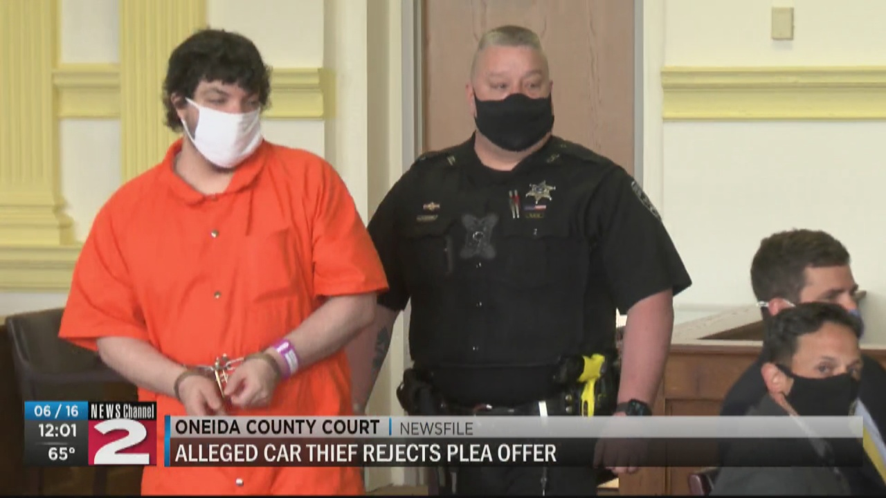 Image for Pittsford man accused in Utica car theft rejects plea deal