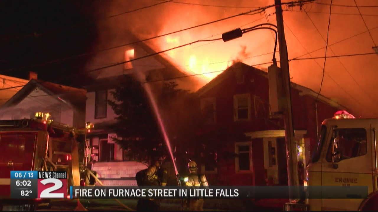 Image for 11 displaced following Little Falls fire