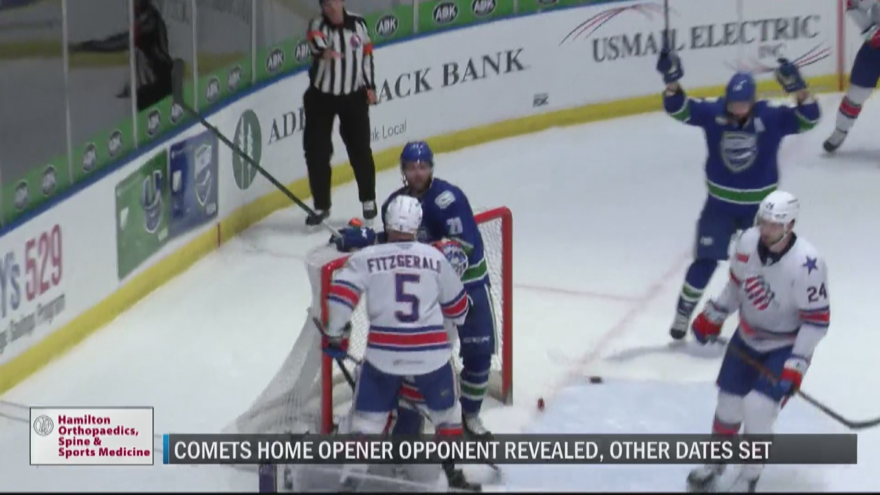 Image for Comets to face Amerks in home opener for 2021-22 season