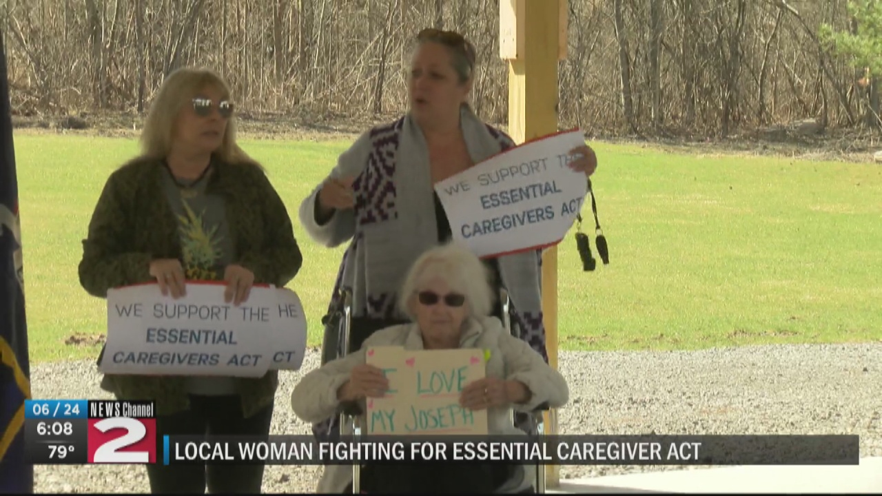 Image for Utica woman continues fight for nursing home caregivers' rights