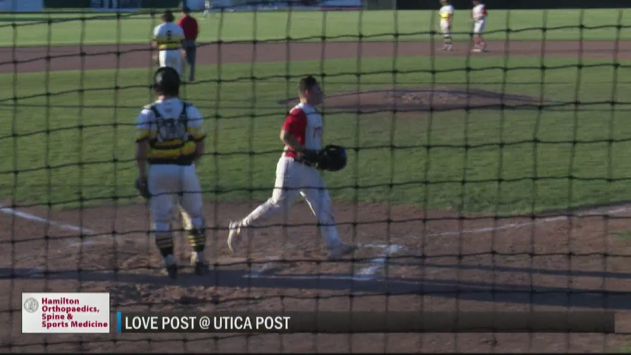Image for SCORES 6-23-21: Utica Post holds off Love Post under the lights at Murnane Field