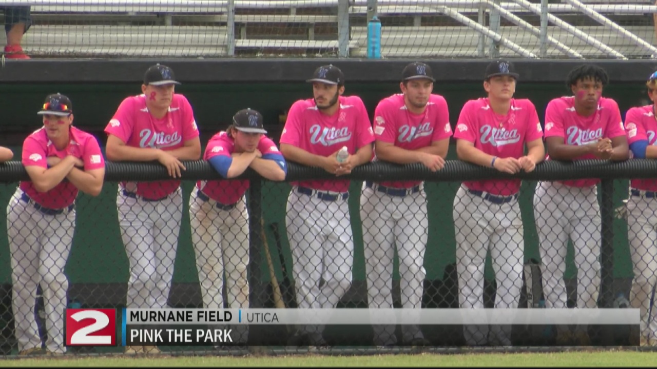 Image for Everyone walks away victorious on 3rd annual 'Pink the Park' night