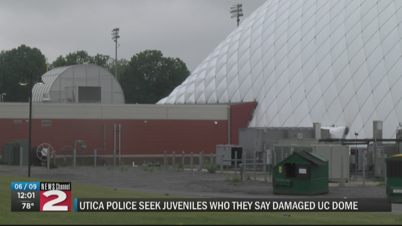 Image for Utica police searching for juveniles accused of damaging Utica College dome