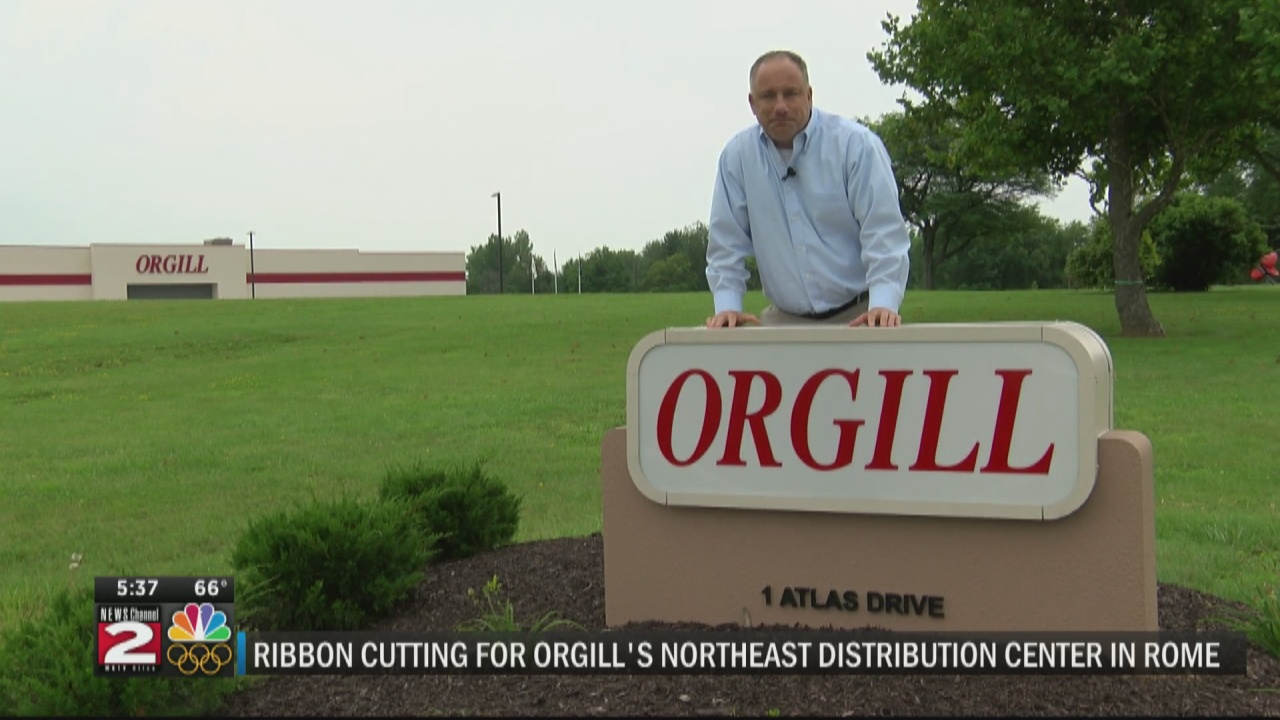 Image for Orgill Distribution Center ribbon cutting
