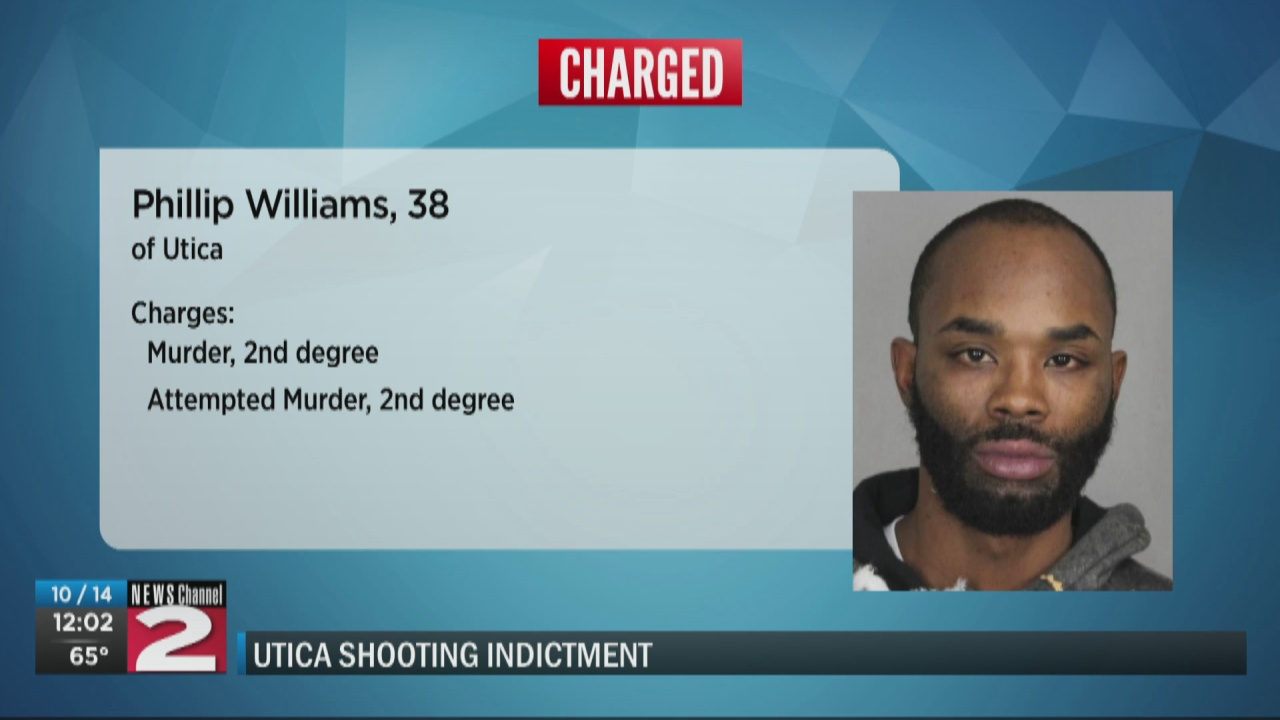 Image for Suspect charged with murder, attempted murder after 4 men shot in Utica