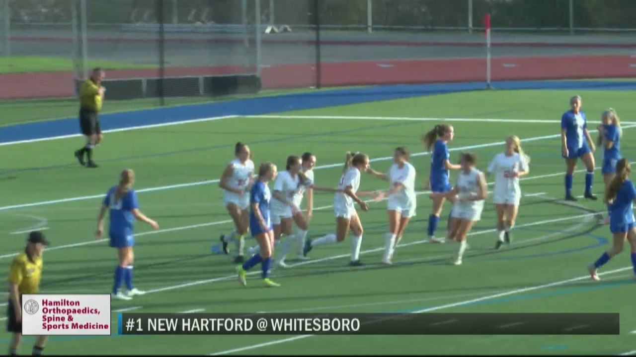 Image for SCORES 10-14-21: New Hartford girls soccer finishes unbeaten regular season with win over rival Whitesboro; Spartans boys use three-goal second half to down Warriors
