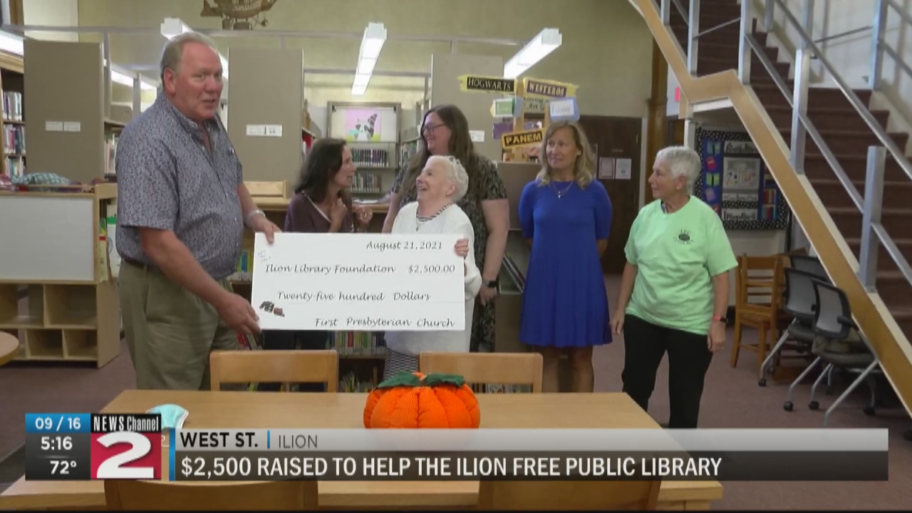 Image for Church raises $2,500 for Ilion Free Public Library