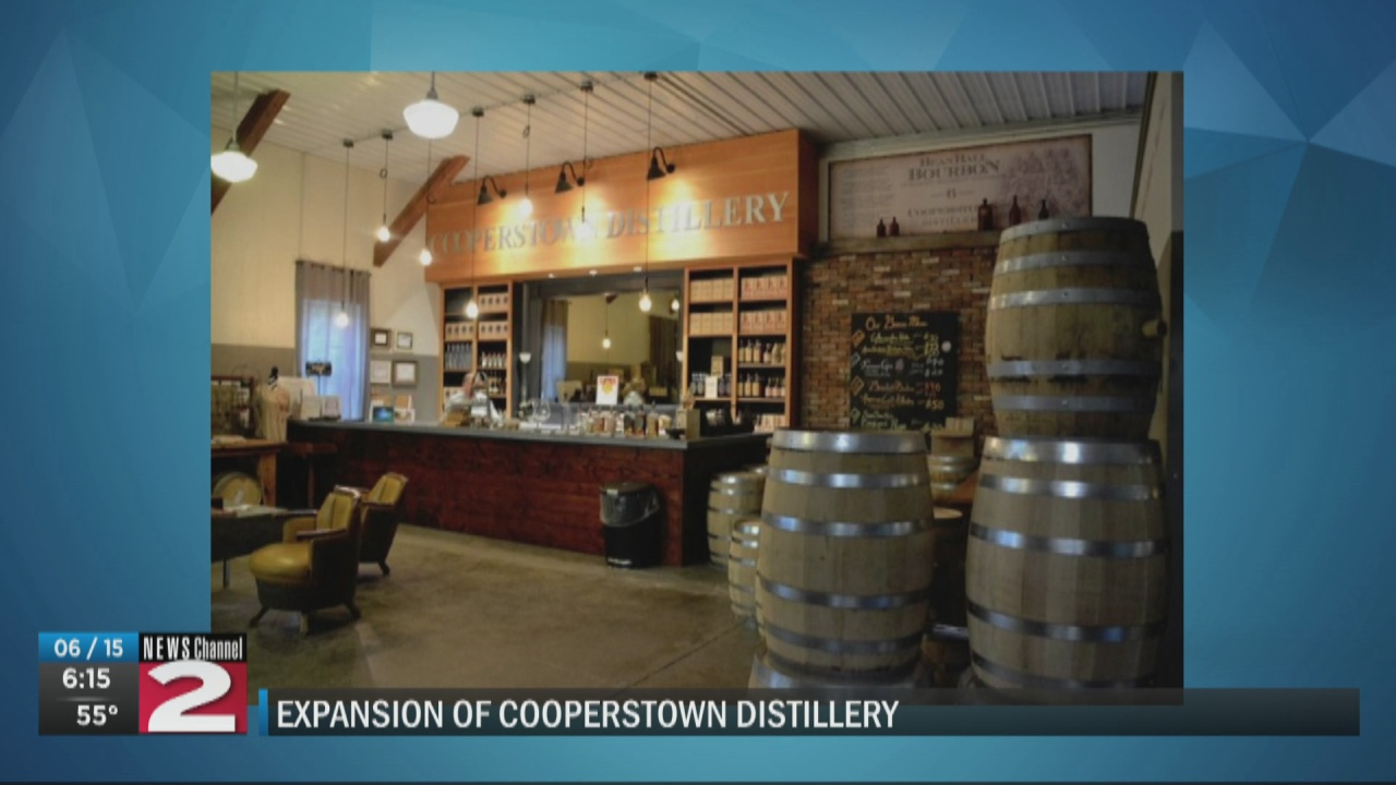 Image for Cooperstown Distillery completes $430K warehouse expansion
