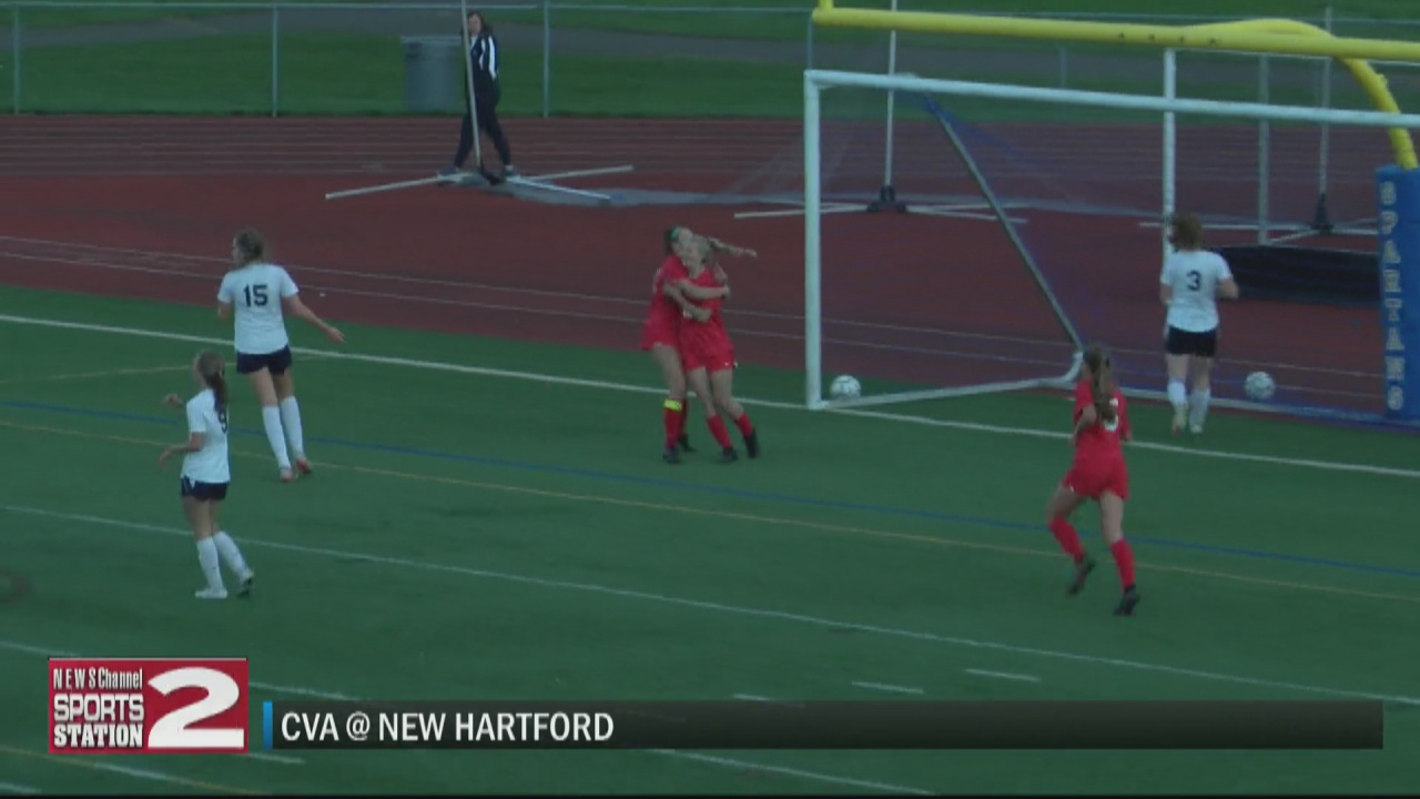 Image for SCORES 9-28-21: New Hartford girls remain perfect as Spartans beat CVA in both girls and boys soccer