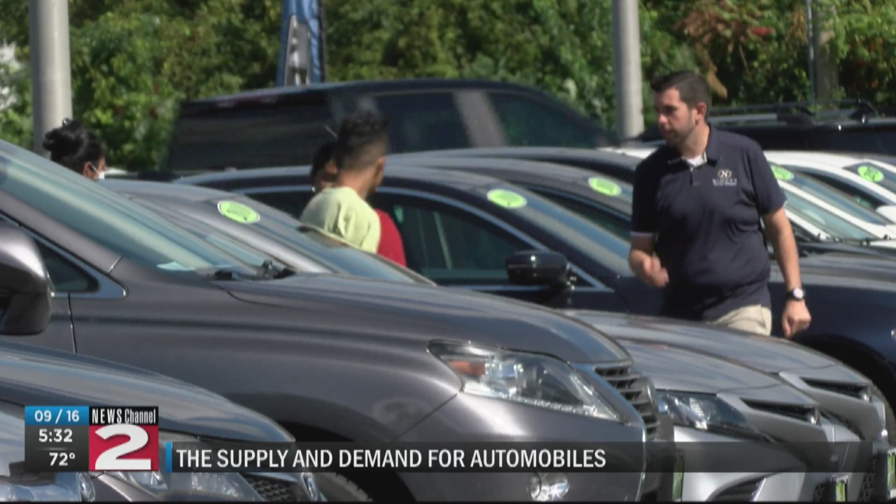 Image for How the pandemic affects supply and demand for automobiles