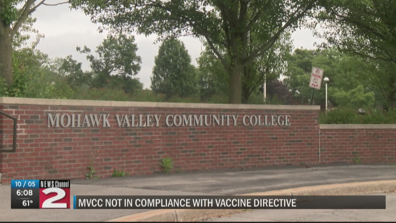 Image for SUNY puts MVCC on notice for failure to comply with student vaccine mandate