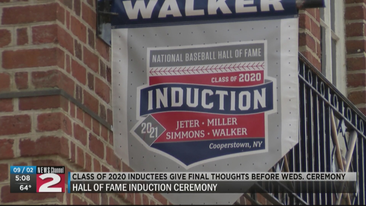 Image for Baseball Hall of Fame Class of 2020 members prepare for long-awaited induction ceremony