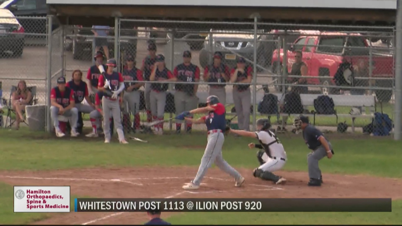 Image for SCORES 6-28-21: Whitestown Post holds off Ilion Post in high scoring legion baseball contest