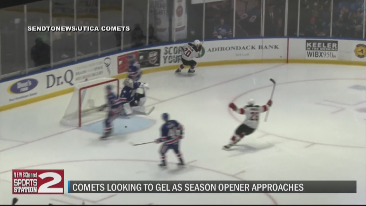 Image for Comets looking to build chemistry, fine tune systems in final days before regular season begins