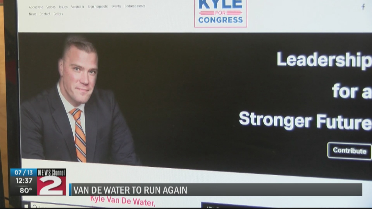 Image for Van De Water to challenge Delgado a second time for 19th Congressional District seat