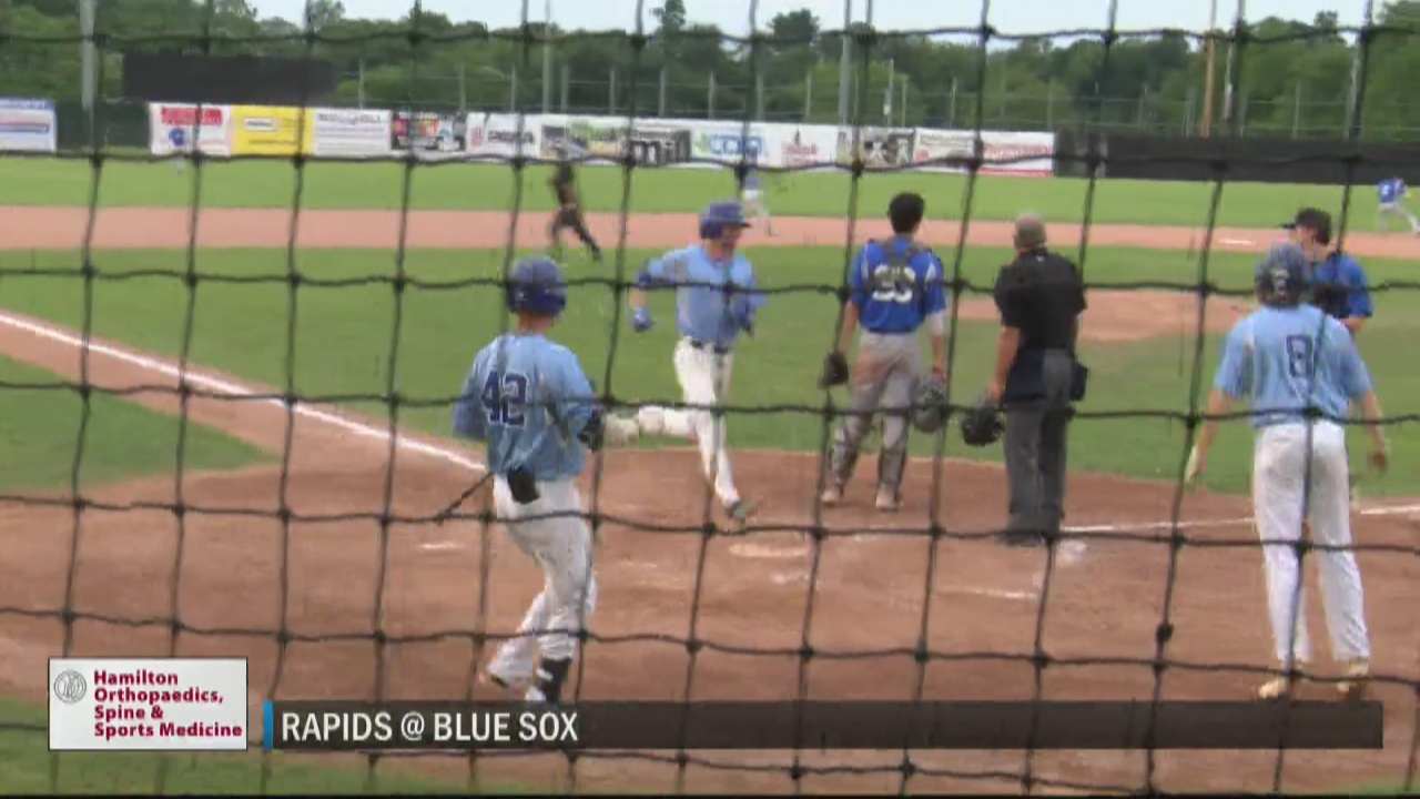 Image for SCORES 7-16-21: Blue Sox bats come alive in win over Rapids at home