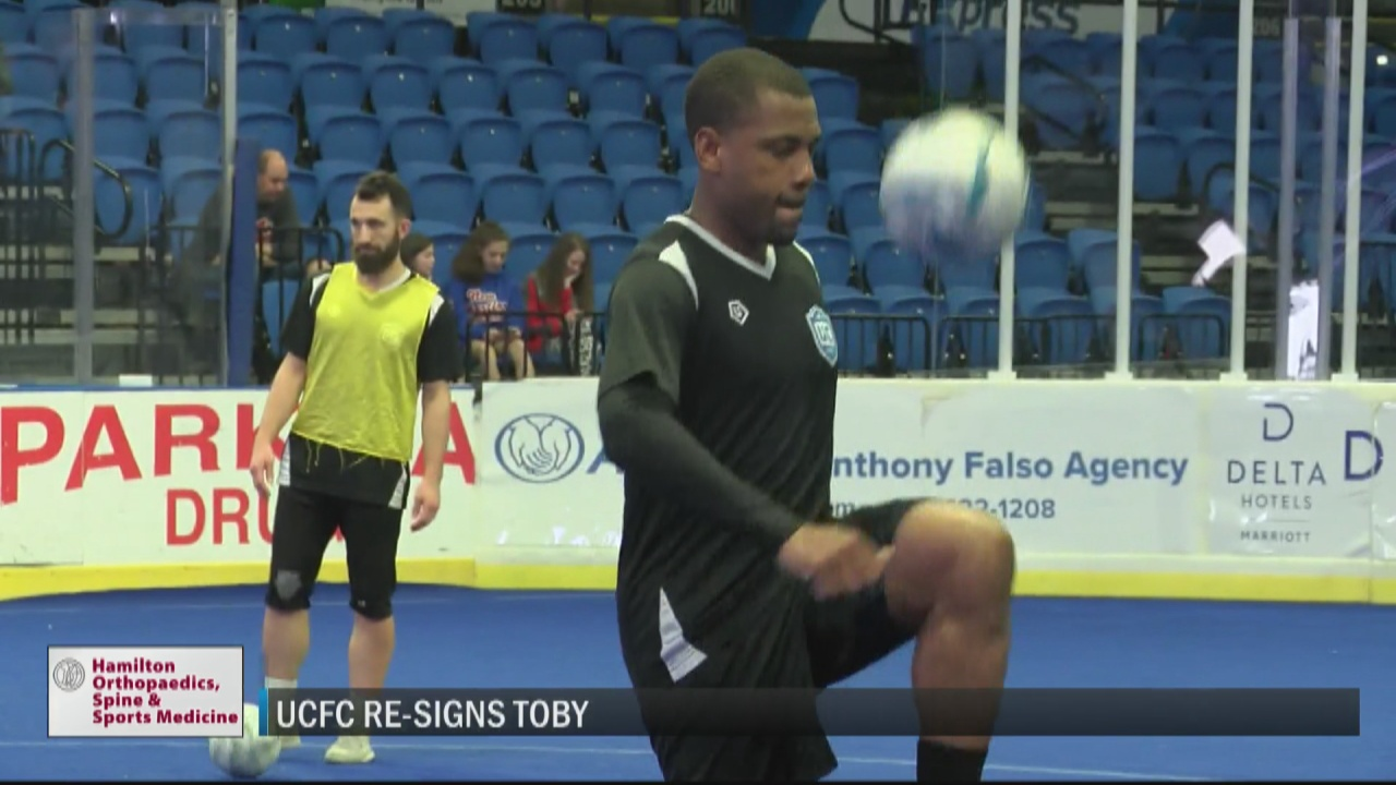 Image for Utica City FC re-signs defender Toby for upcoming season