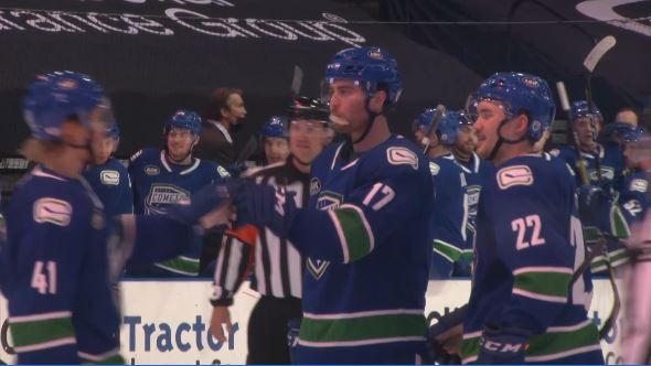 Image for Comets shut out Crunch in final Galaxy Cup series matchup of the season
