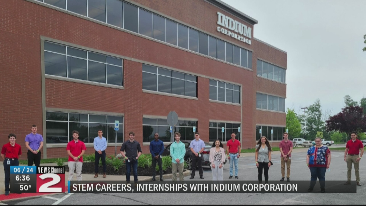 Image for Indium supports STEM learning with summer internship program