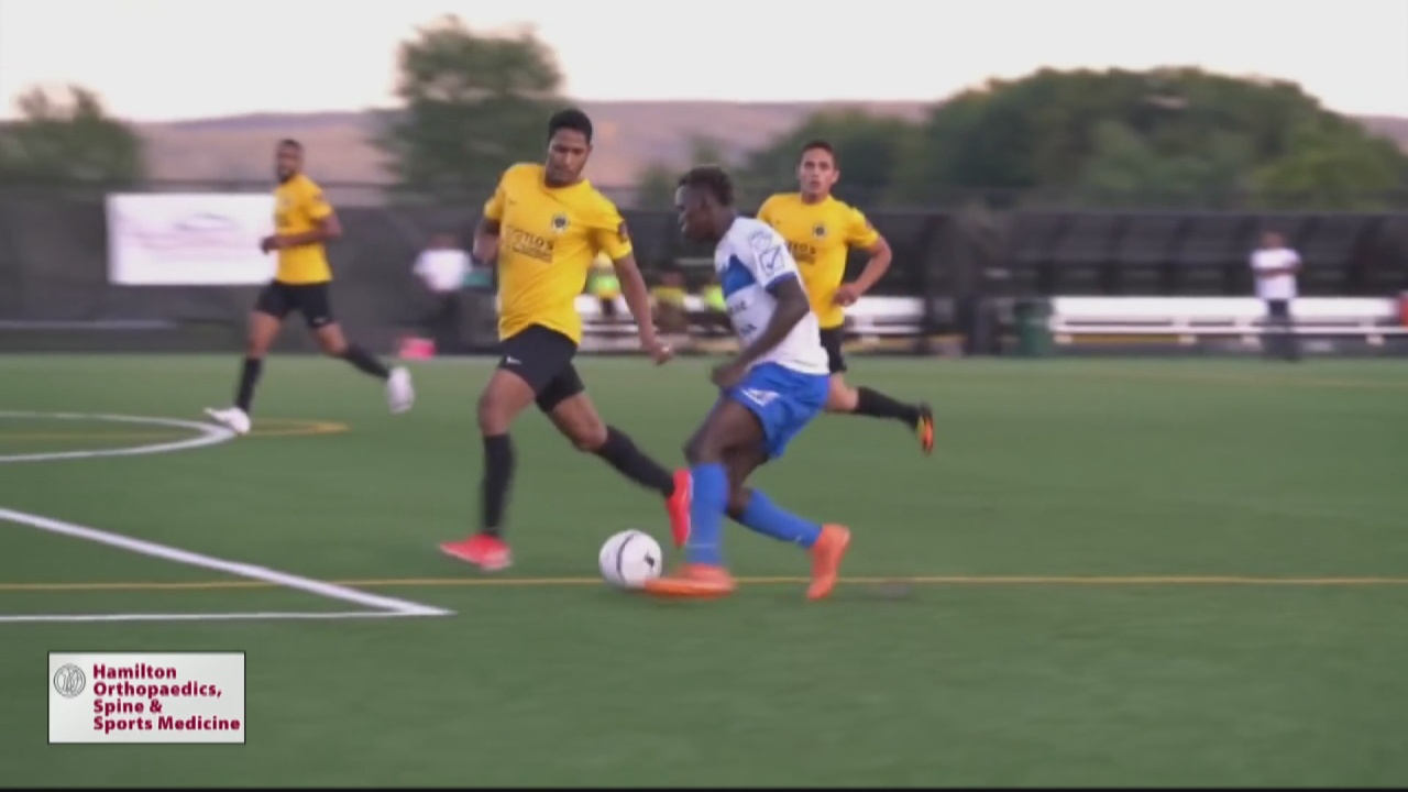 Image for Utica City FC signs local standout Somow for upcoming season
