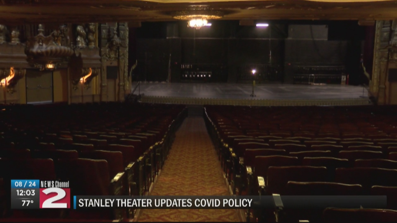 Image for Proof of vaccination required to go unmasked inside The Stanley Theatre this season