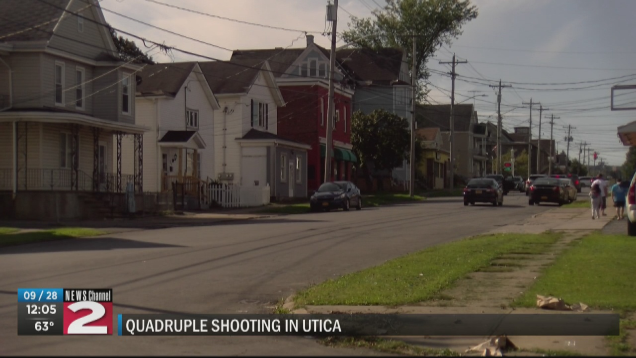 Image for Utica police still looking for leads in quadruple shooting