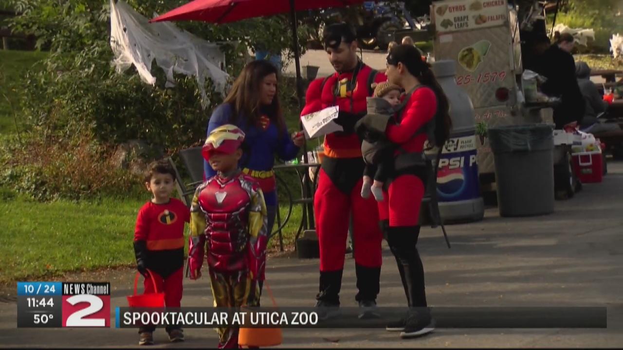 Image for Spooktacular Harvest Celebration at Utica Zoo
