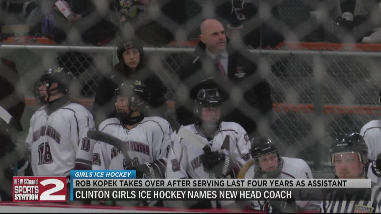 Image for Kopek named head coach of Clinton girls ice hockey program