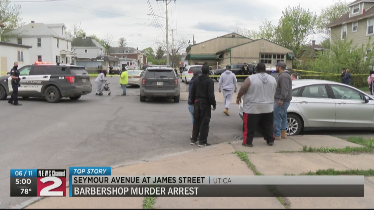Image for Man charged in fatal shooting at Utica barbershop