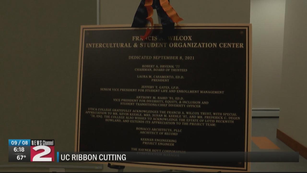 Image for Utica College announces opening of Wilcox Center