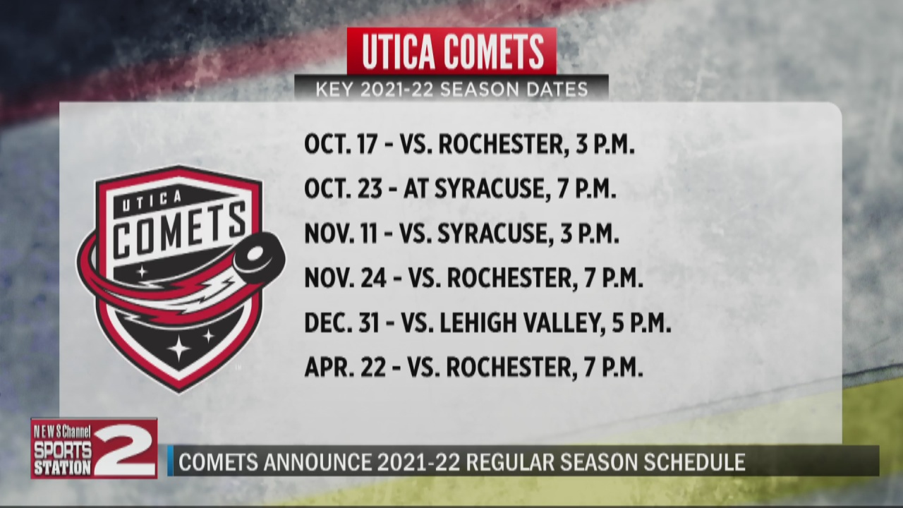 Image for Comets announce 2021-22 regular season schedule