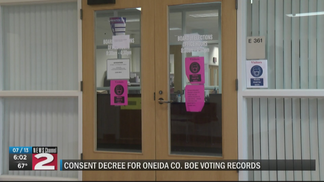 Image for U.S. Justice Department and Oneida County Board of Elections reach agreement, consent decree