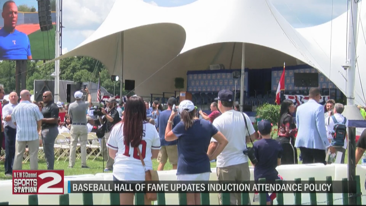 Image for National Baseball HOF will no longer cap free lawn seating at 2021 induction ceremony