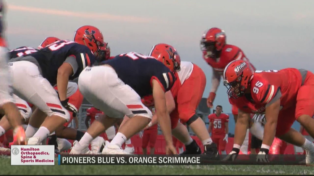 Image for Pioneers hold annual Blue vs. Orange intra-squad scrimmage for tune-up before regular season begins