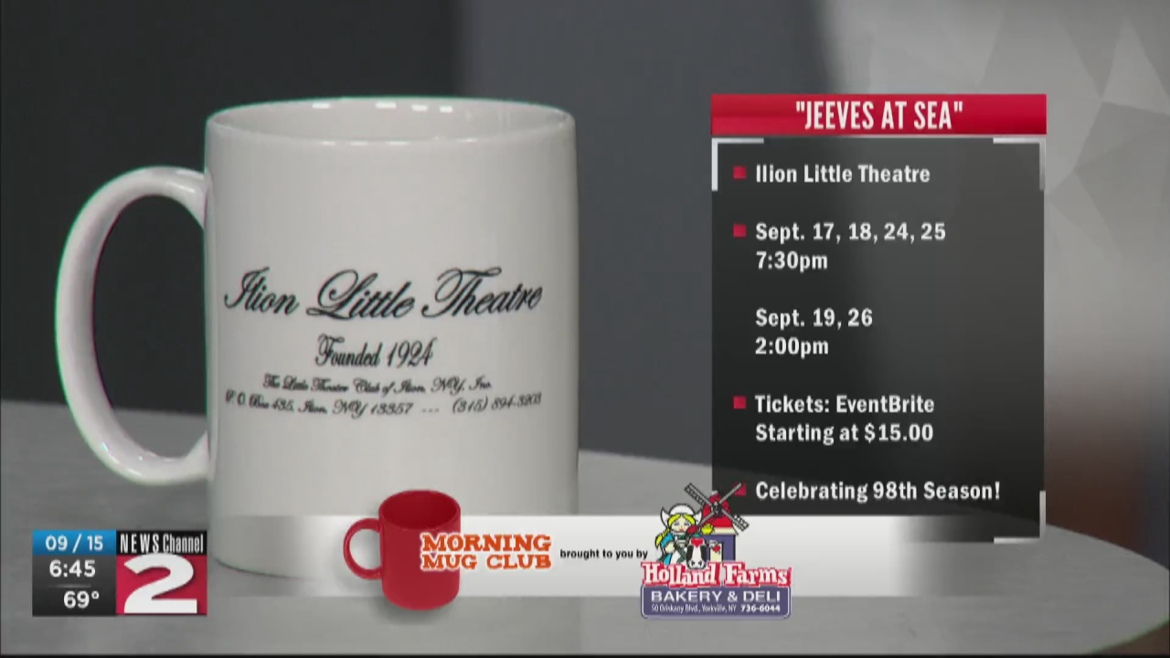 Image for Mug Club: The Ilion Little Theatre Begins 98th Season with 'Jeeves at Sea'