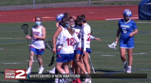 Image for SCORES 5-11-21: New Hartford's offense goes on a late first half tear leading to win over Whitesboro