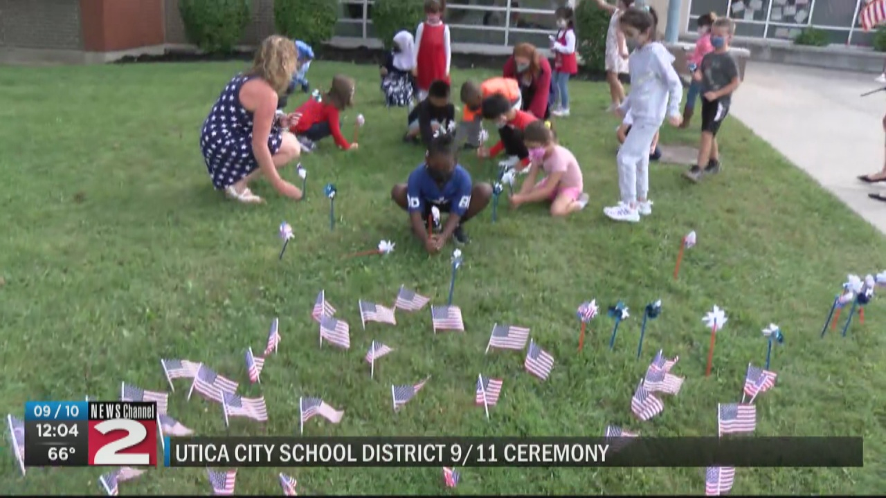 Image for Utica students honor 9/11 victims on 20th anniversary
