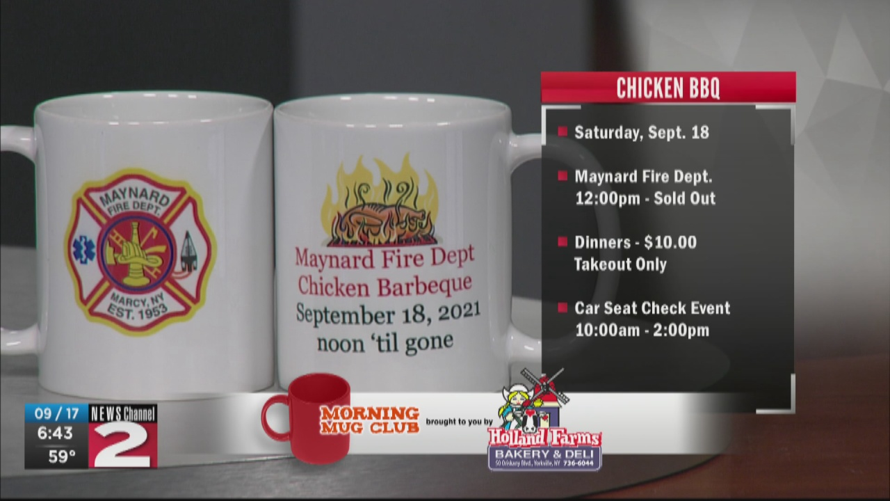 Image for Mug Club: Maynard Fire Dept. to Host Chicken BBQ Takeout