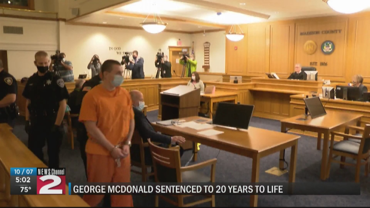 Image for Husband sentenced to 20 years to life in prison for wife's murder in Canastota