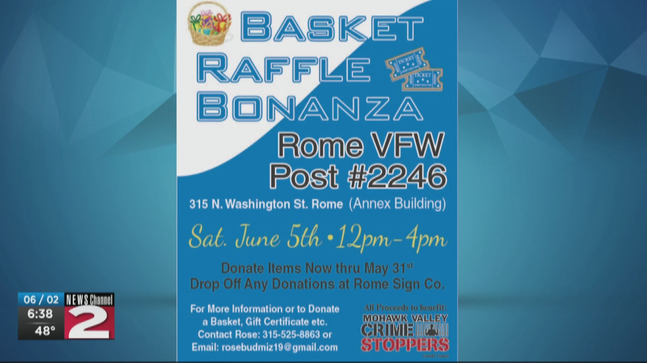 Image for Mohawk Valley Crime Stoppers holding fundraiser in Rome