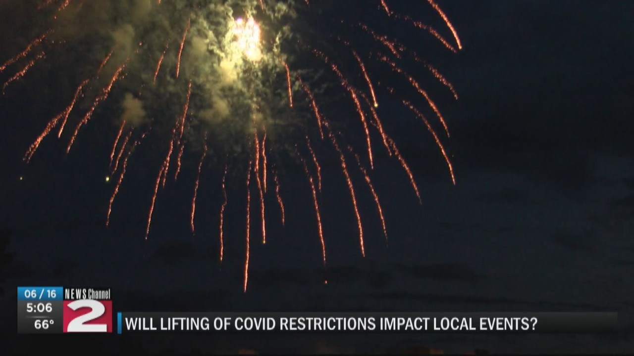 Image for What do lifted Covid restrictions mean to other local events?