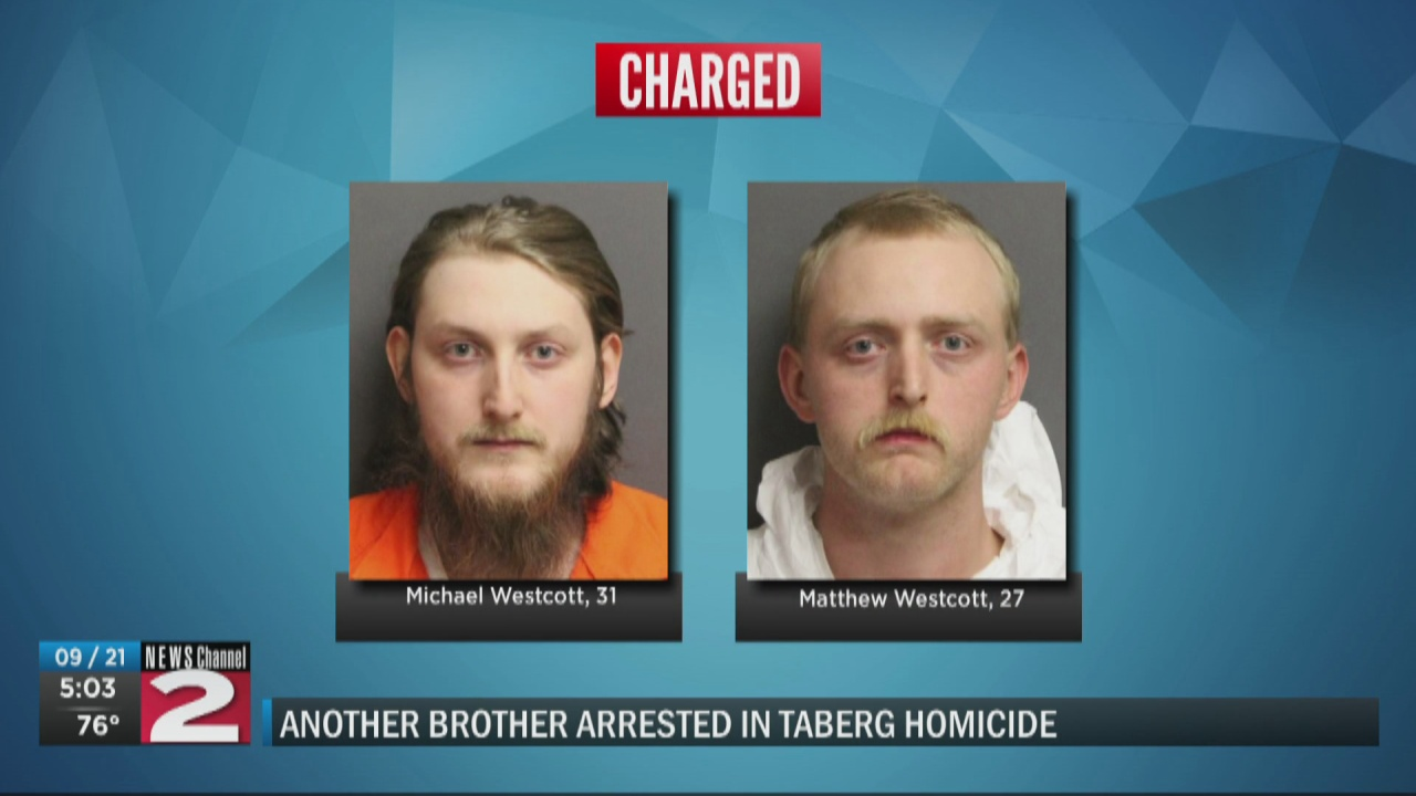 Image for Second brother charged following murder of Taberg man
