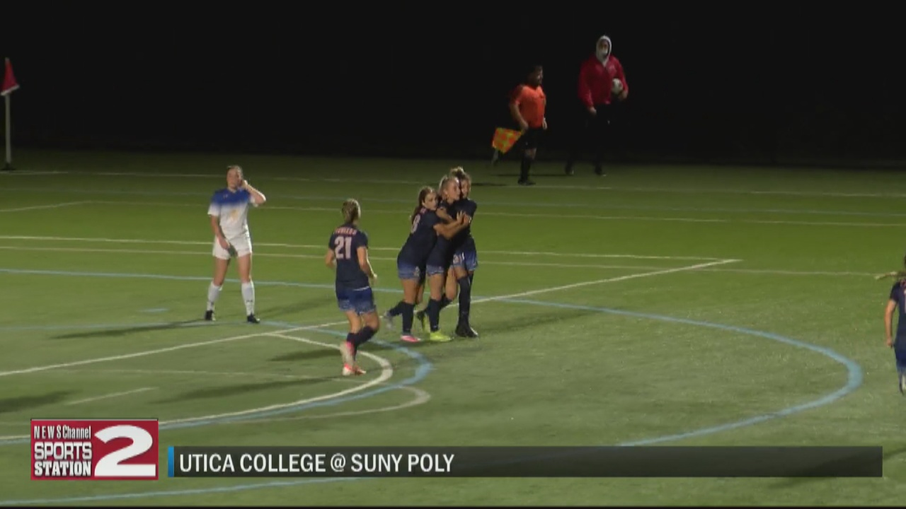 Image for SCORES 9-22-21: Utica College women, SUNY Poly men win in local rivalry soccer matchups