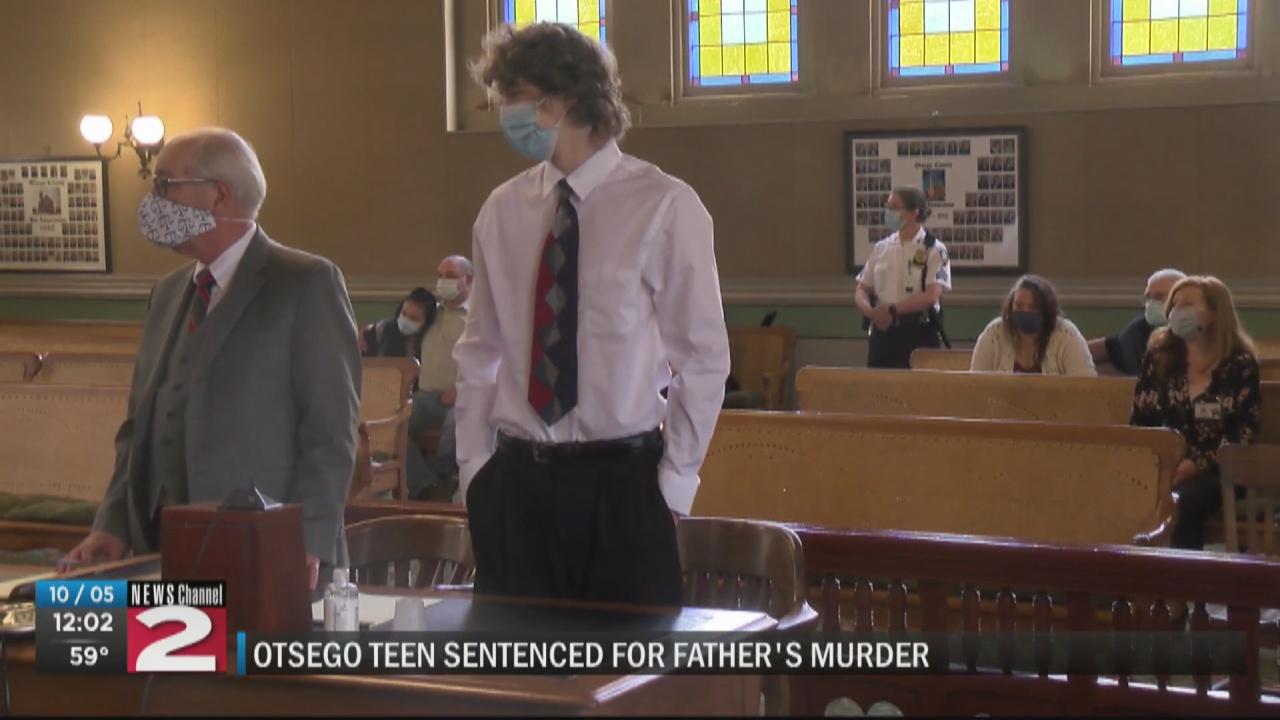 Image for Worcester teen sentenced for father's murder
