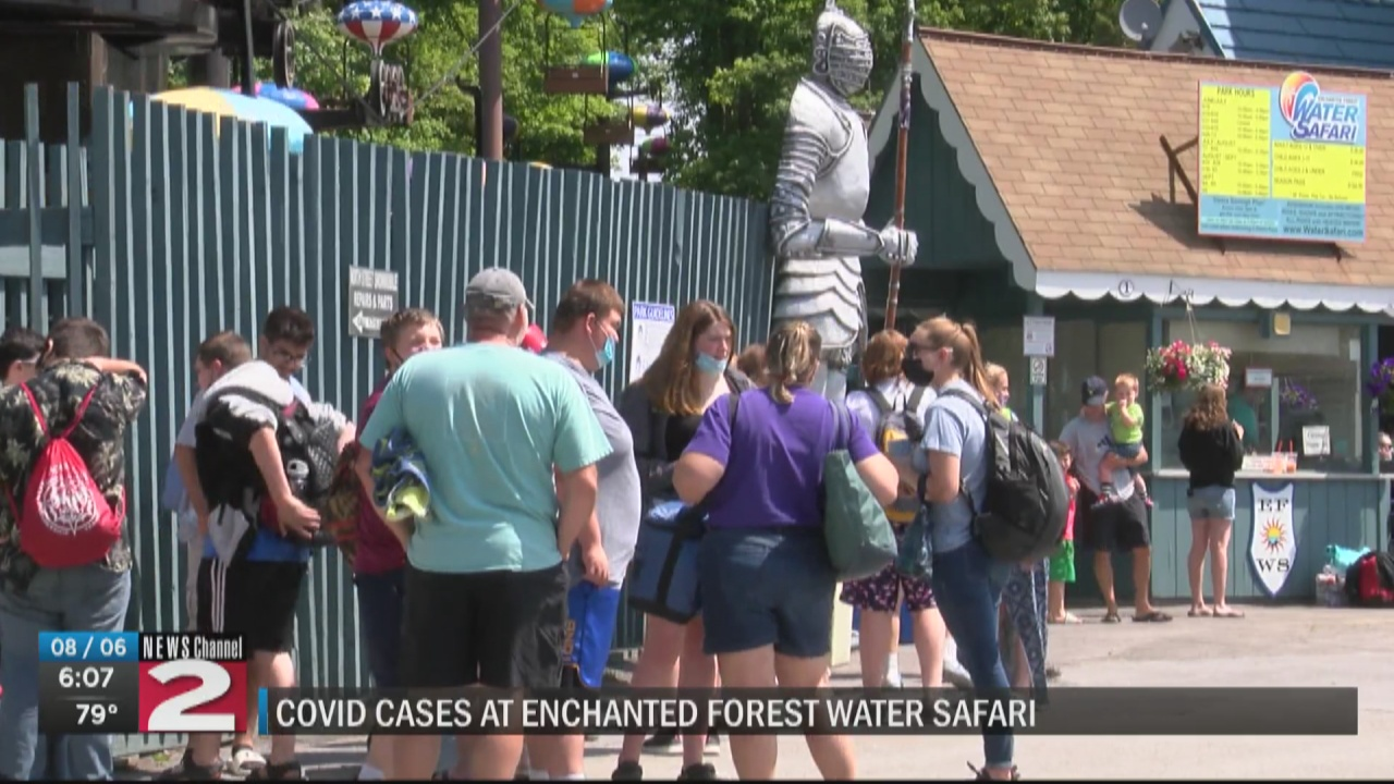 Image for Herkimer County investigating COVID-19 cases at Enchanted Forest Water Safari
