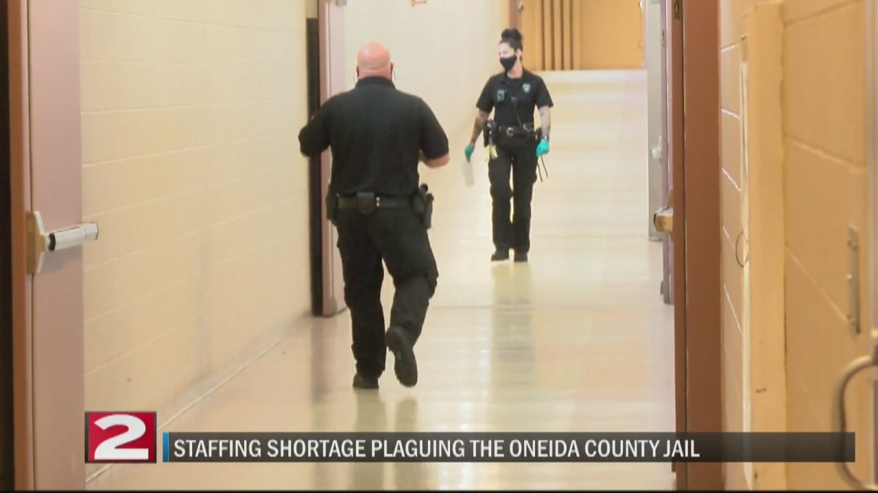 Image for Staffing shortage plaguing the Oneida County jail