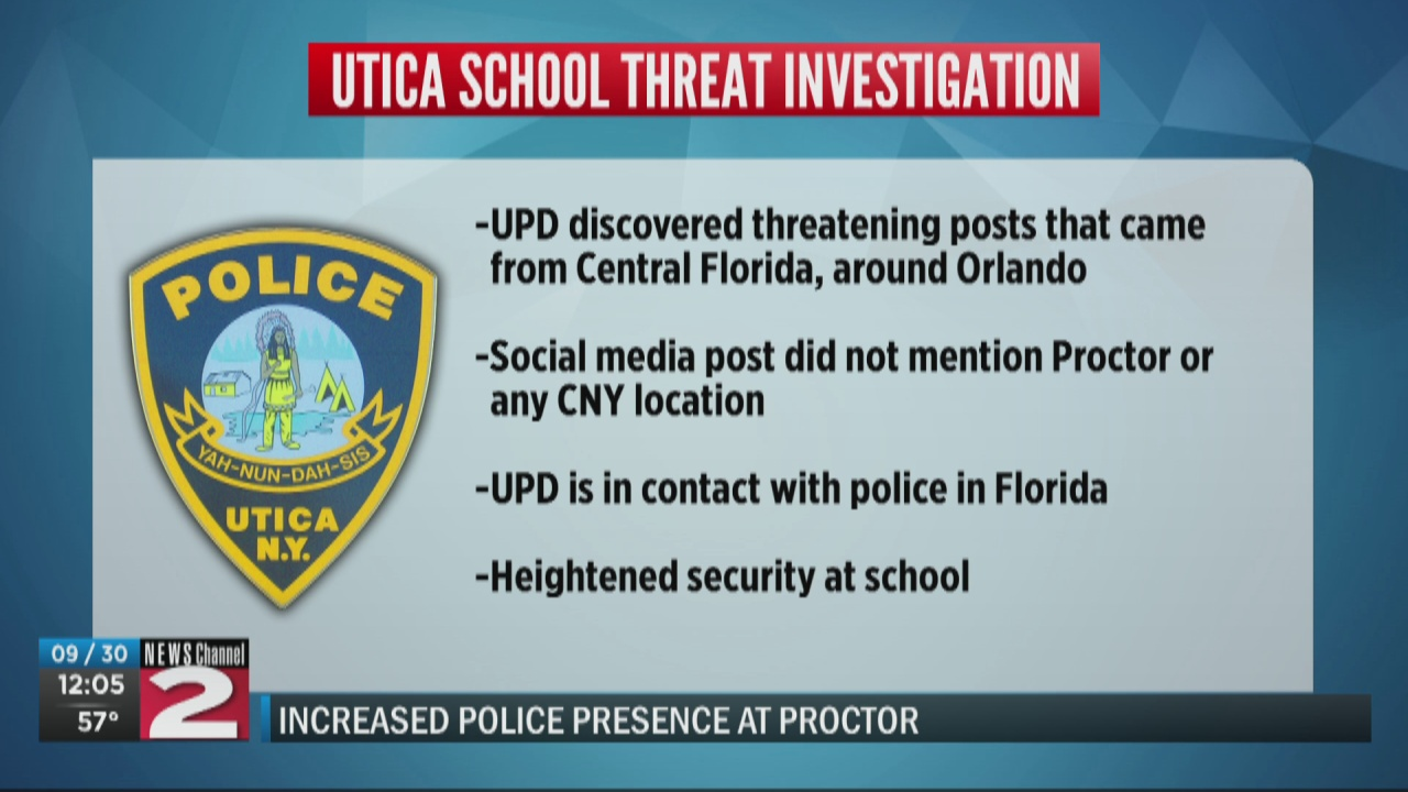 Image for UPD investigates threatening social media post originating from Florida