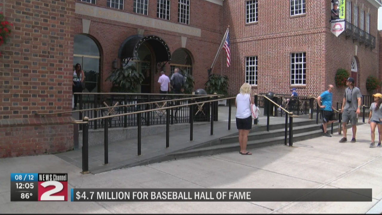 Image for National Baseball Hall of Fame gets $4.7 million in federal pandemic relief funding