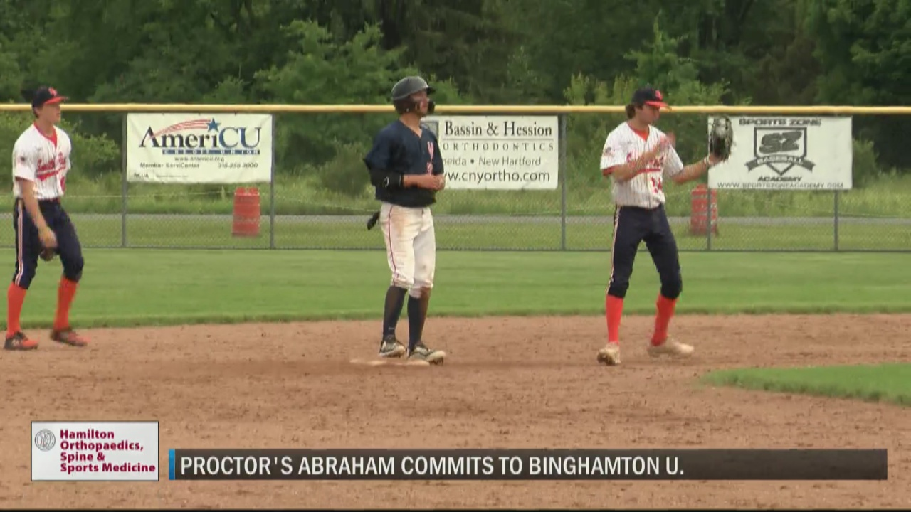Image for Proctor's Abraham commits to play Division I baseball at Binghamton