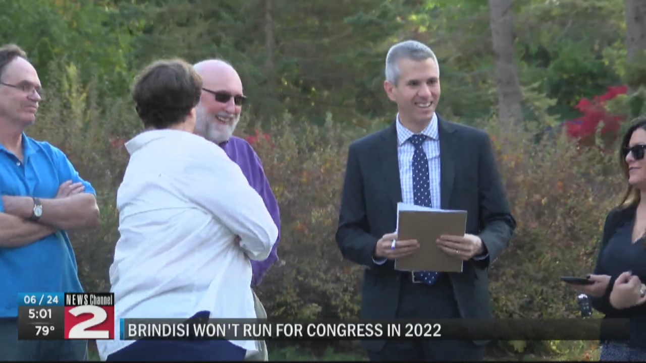 Image for Brindisi decides not to run for Congress in 2022, but 'not ruling out' return to public service
